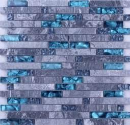 mosaic tile backsplash kitchen grey marble blue glass mosaic tiles backsplash kitchen wall tile