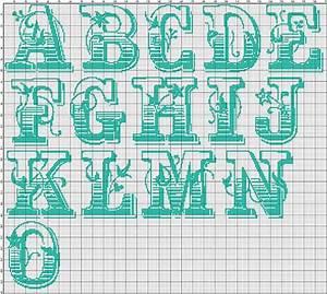 Cross Stitch Alphabet Pattern Saloon Cowboy Cross Stitch