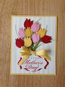 Items similar to Stampin Up handmade happy mother's day ...