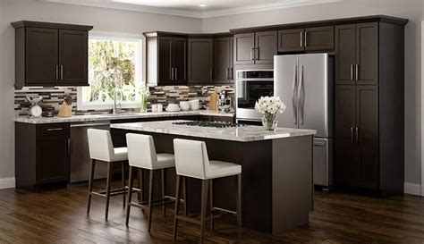 rta kitchen cabinets los angeles benefits you ll see with espresso colored cabinets in 7824