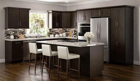 Amesbury Espresso Kitchen Cabinets