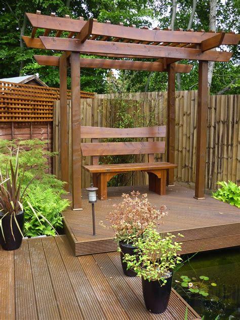 garden separation ideas torii gate