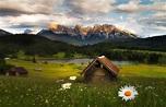 Germany, Bavaria, Geroldsee ... Perfect landscape ...