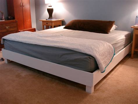 Ana White  New Platform Birthday Bed For The Hubby! Diy