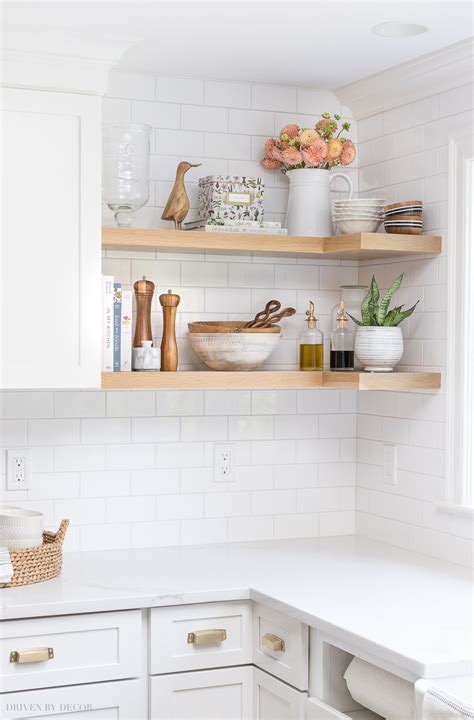 Diy Decorating Ideas For Kitchen by My Kitchen Remodel Reveal Driven By Decor