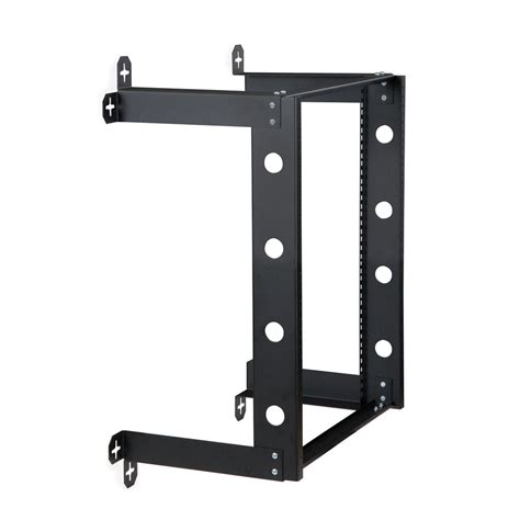 wall mount rack kendall howard 174 12u v line wall mount rack 12 quot depth