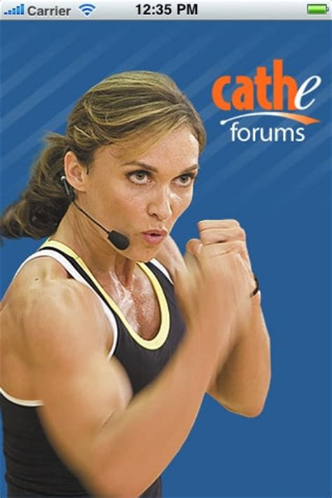 Introducing The Cathe Forums iPhone App
