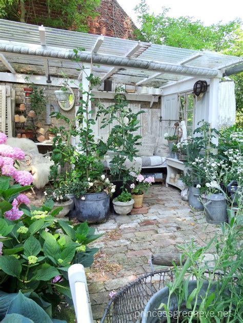 Garten Pflanzen Im Juli by Pflanzzimmer Gartenzimmer Eingerichtet Im Shabbychic