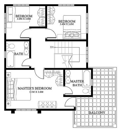 modern floorplans mhd 2012004 eplans modern house designs small