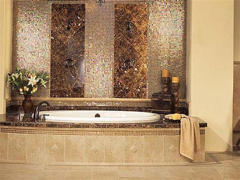 bathroom with mosaic tiles ideas glass tile bathroom ideas large and beautiful photos