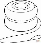 Yoyo Coloring Pages Printable Clipart Clip Supercoloring Categories sketch template
