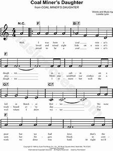 "Loretta Lynn ""Coal Miner's Daughter"" Sheet Music for ..."