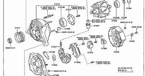 Corolla Diy  1999 Toyota Corolla Ve 1zzfe Engine Alternator Exploded Diagram