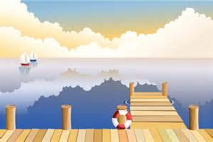 Boardwalk Pier Clip Art