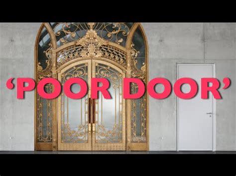 poor door nyc poor door in nyc apartment humiliates low income