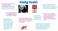 Andy Warhol - Arty Kids