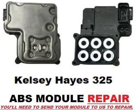 repair anti lock braking 2004 gmc yukon interior lighting chevrolet astro abs module repair 1999 2005 kelsey hayes 325 ecbm antilock ebay