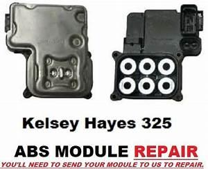 1999  Ebcm Electronic Brake Control Module Repair