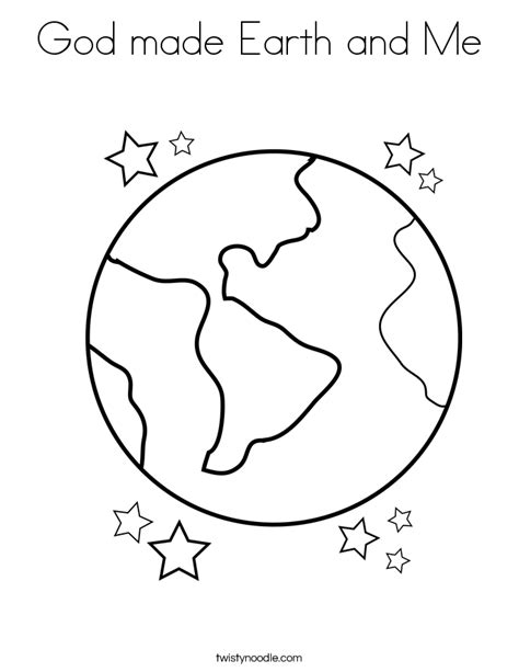god created  earth coloring page god  earth