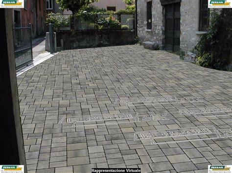 Pavimentazione Cortile Esterno Pavimentazione Cortile Con Autobloccanti Instapro