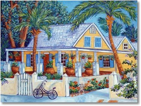 Inspiring House Paintings   Key West Style   RemodelingGuy.net