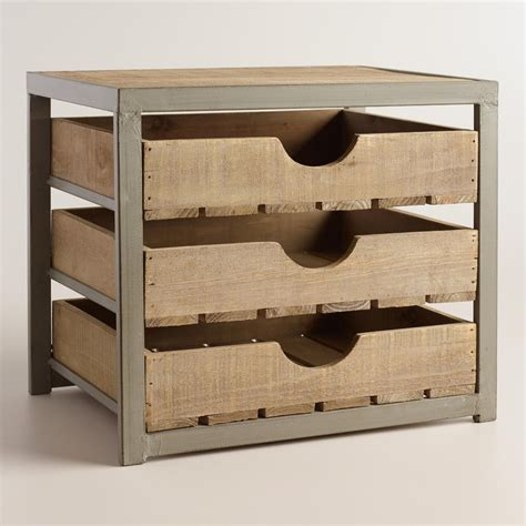 kitchen drawer organizer wood give your desktop storage a rustic appeal with our apple 4724