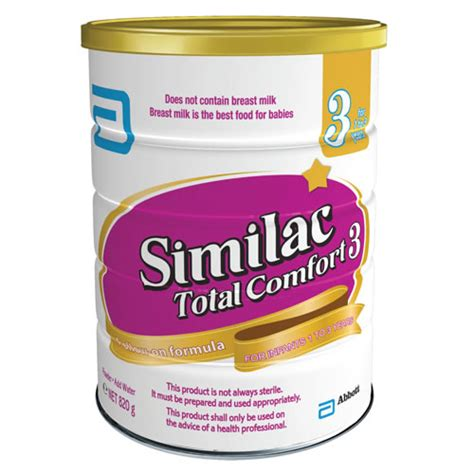 total comfort formula similac total comfort stage 3 820g baby city