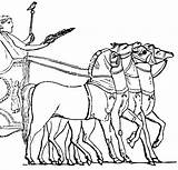 Chariot Roman Horse Clip Clipart Chariots Greek Pages Colouring Drawn Coloring Etc Sketch Template Transportation Usf Edu Medium 1024 sketch template