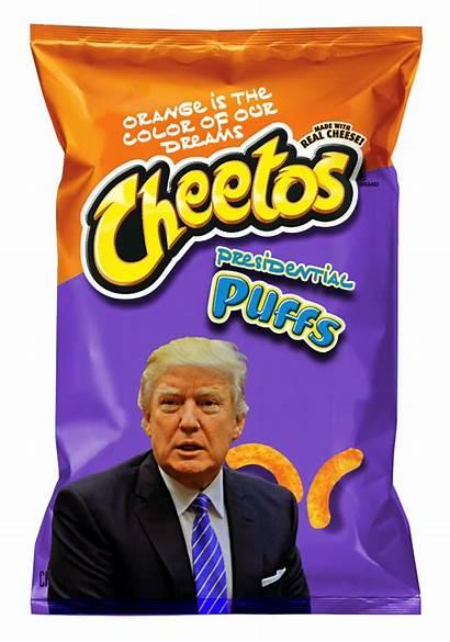 Cheetos Bag Trump President Adorn Commemorative Striking