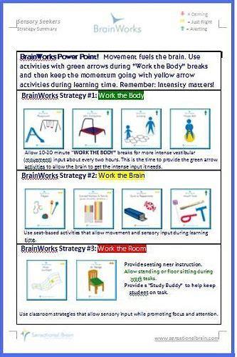 sensory diet   plan  balance  develop sensory
