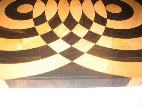 A Very Cool End Grain Cutting Board.