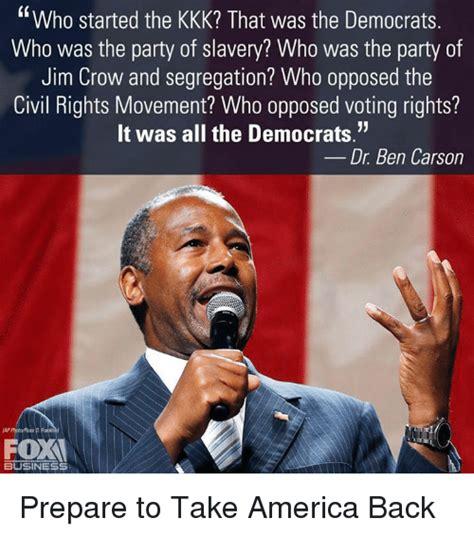 Ben Carson Meme - 25 best memes about voting rights voting rights memes