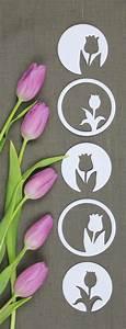 Frühlingsdeko Basteln Vorlagen : die besten 25 tulpen basteln ideen auf pinterest ~ Lizthompson.info Haus und Dekorationen