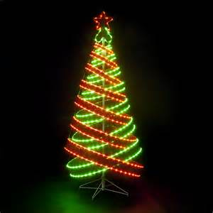 Spiral Lighted Christmas Trees Outdoor by 120cm 4ft Outdoor Amp Indoor Red Amp Green 456 Led Spiral Tape