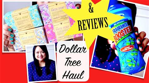 Dollar Tree Haul & Review Bolero Soap, Scent Booster  Youtube