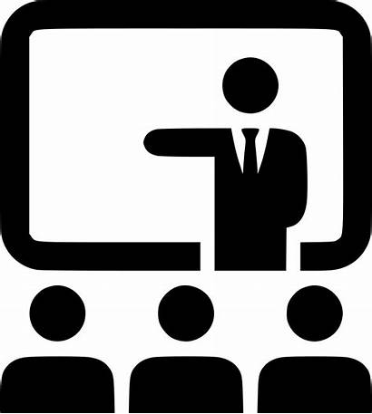 Icon Presentation Conference Svg Onlinewebfonts Cdr Eps