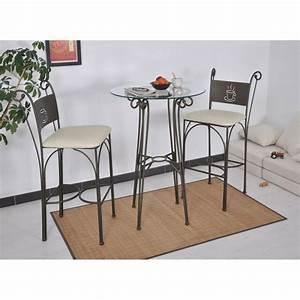 Table A Manger Ronde Pas Cher : table haute ronde gringo achat vente table salle a manger pas cher couleur et ~ Melissatoandfro.com Idées de Décoration