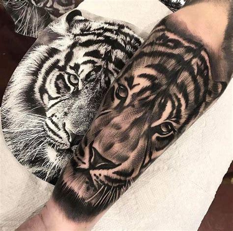 sorprendentes tatuajes de tigres  su significado