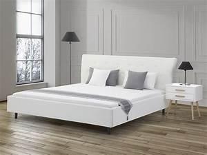 lit king size 180x200 elegant interesting lit coffre x With chambre design avec matelas bultex 180x200 pas cher
