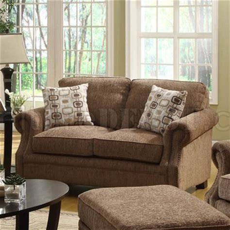 Cottage Loveseat by White Blue Striped Fabric Cottage Style Sofa Loveseat Set