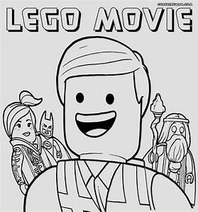 Kleurplaten Lego Emmet.Emmet Lego Coloring Page