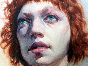 Resume For Students In College Art Echo Watercolor Portrait Demo