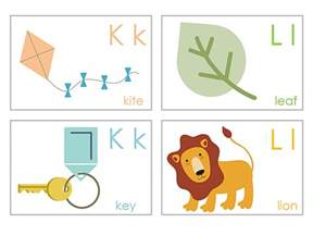13 sets of free printable alphabet flash cards