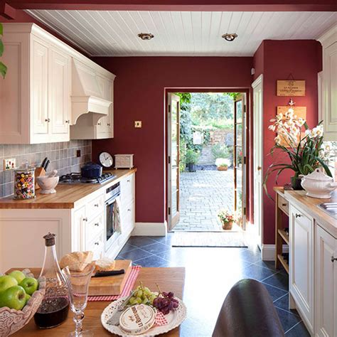 Red Kitchen Colour Ideas  Home Trends  Ideal Home