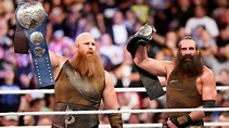 Erick Rowan suffers injury during Smackdown Tag Team Title ...