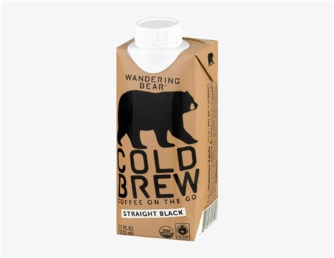 How do subscribers rate wandering bear coffee? Wandering Bear Organic Cold Brew Coffee - 600x600 PNG Download - PNGkit