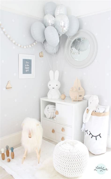 ikea deco chambre bebe look grey white play room design look