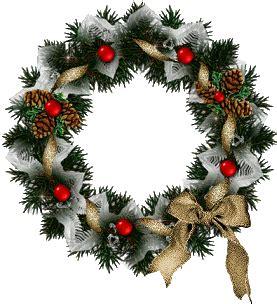 christmas wreaths graphic animated gif graphics christmas wreaths 057274