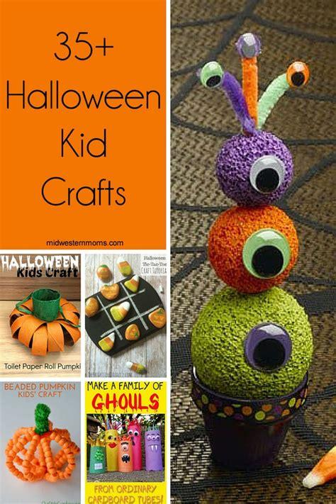35+ Halloween Kid Crafts