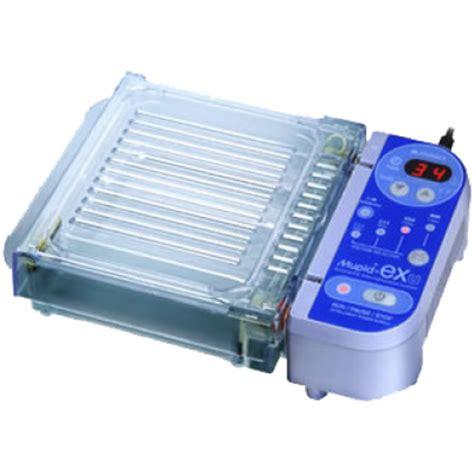 build in oven mupid exu horizontal electrophoresis system